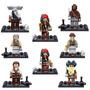 Lego Compatible, Piratas Del Caribe Incluye 8 Pz + Envío