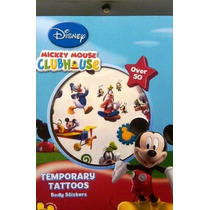 Mickey Mouse Clubhouse Temporales Tatuaje Disfraces Libro
