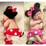 Disfraz De Minnie A Crochet Para Book De Fotos De 9 A 1 Año!