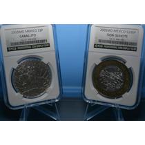 Capsula (losa) De Lujo Monedas De 39mm, Caballito, Quijote