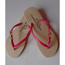 Kit Chinelo Carmen Steffens 10 Pares