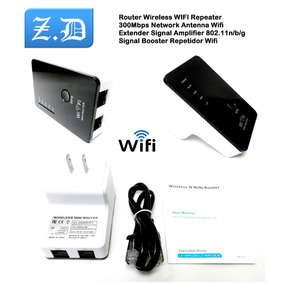 Router Wifi Repetidor N Inalambrico Amplificador 300mbps