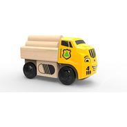 Trencity Camión De Madera Tronky - Camiones Juguetes