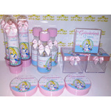 Kit Infantil Personalizado Alice No País Das Maravilhas