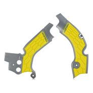 Protector De Chasis X-grip Suzuki Rmz450 08-17 Gris/amarillo