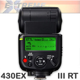 Flash Canon 430 Ex Iii-rt Ettl T5 70d 7d Radio Inalambrico