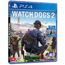 Watch Dogs 2 Watchdogs Ps4 - Midia Fisica ( Em Portugues )