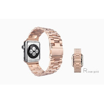 Correa Para Iwatch 38 Or Mm Oro Rosa + Case O Mica