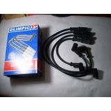 Cables Bujías Fiat Siena/ Uno Mpi Motor 1.3, Carburado, 8 V