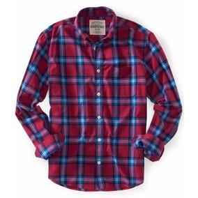 Liq. Camisas Aéropostale Caballero Rosa Y Azul