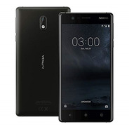 Celular Nokia 3 Negro 16gb 2gb 8mp Android 7 Dual Sim 5