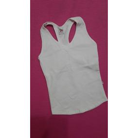 Camisa Blusa Blanca Cotton Licra