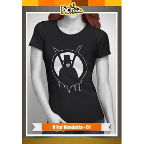 Camiseta Films - V For Vendetta Mujer