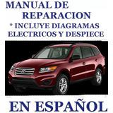 Manual De Taller Hyundai Santa Fe 2007 Español