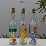 Botella Mensajera Regalo Original Especial Regalo Dia Madre