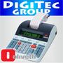 Calculadora Impresora Olivetti Logos 802 Rollo Papel Bicolor