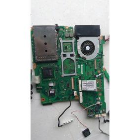 Tarjeta Madre Toshiba C2d Completa Y Accesorios