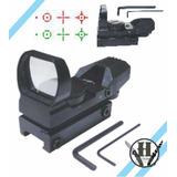 Mira Holografica 357magnum 001 22mm Iuminada Multi Reticulo