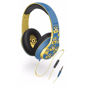 Audífonos Auricular Minions Diadema Over-the-ear Headphones