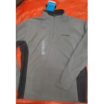 Columbia Fleece Hoodie Hombre Gris Large $699 Nueva Original