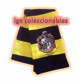 Bufanda Hufflepuff Harry Potter Igo Coleccionables Economica
