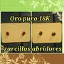 Zarcillos Abridores Oro 18k Original. Se Venden Como Joya.