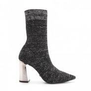 Bota Sock Stretch Bico Fino Salto Grosso Cecconello 1304006