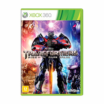 Transformers Rise Of The Dark Spark Xbox 360 Novo + Brinde
