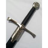 Espada Medieval Templaria Caballero De Las Cruzadas Maestro