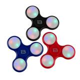 Fidget Spinner Led Varios Colores Anti Estres