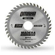 Hoja De Sierra Para Madera 115 X 22.23 Mm 40 D. Omaha Hsm45