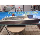 Barco Transatlántico Queen Mary Ii De Plastico Para Armar