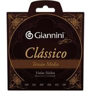 Encordoamento Violao Classico Nylon Giannini Media Genwpm