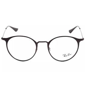 f6eeceb817e76 Armação Óculos Ray Ban Redondo Original - Óculos no Mercado Livre Brasil