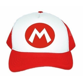 Bone Mario Super Mario Bros - Acessórios da Moda no Mercado Livre Brasil 167c52d230c