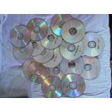 Lote De 170 Dvd Quemados Con Anime Usados Para Artesanias