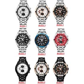 3b34ce9a789e5 Relogio Us Polo Aco Inox Esportivo Masculino - Relógios De Pulso no ...