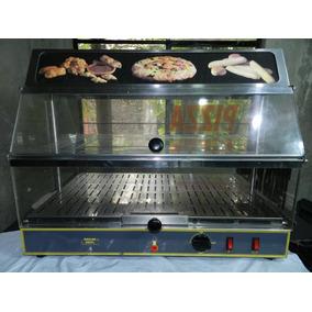 Vitrina Caliente Exhibidora Para Alimentos,roller Grill