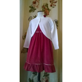 Vestido De Nena Jumper Corderoy, Divino, Cumpleaños, Fiesta.