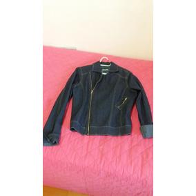 Jaqueta Casaco Jeans Azul Pouco Uso, Aspecto Novo