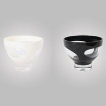Saladeira Pequena Em Acrílico Ky1007-4 Branco Infinity