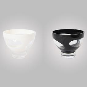 Saladeira Pequena Em Acrílico Ky1007-4 Branco