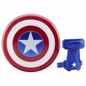 Escudo Capitão América Guerra Civil + Luva Marvel Civil War