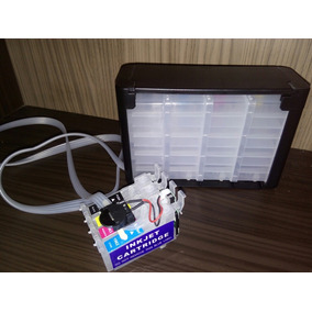 Bulk Epson Xp204 Xp214 Xp401 Xp411 + Tintas Pré Instalado