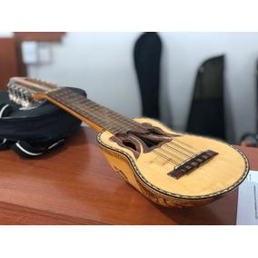 Charango De Luthier Tallado En Madera Artesanal Garantia