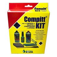 Kit Limpieza Delta Monitores Pc Notebook Oficina 7 Productos