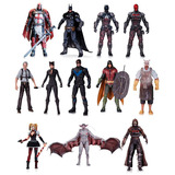 Dc Batman Arkham Knight Figuras Ps4 X-box Wii Azrael Robin +