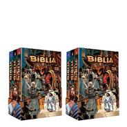 Kit 2 Bíblia Box Kingstone Volume 1 2 3 Ilustrada