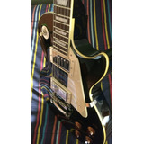 Guitarra Electrica Epiphone Les Paul Standard Ebony Negra