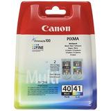 Canon Pg-40 / Cl-41 Multi Pack 2 Cartuchos